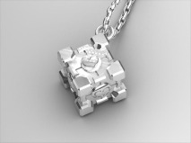 Companion Cube Pendant